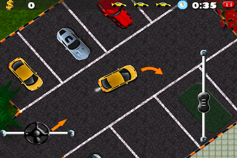 Screenshot Clever Parking